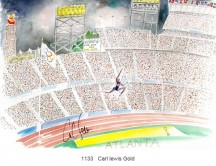C images summer olympics_atlanta - 1133   Carl lewis Gold