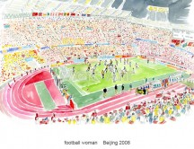 C images summer olympics_beijing - football woman