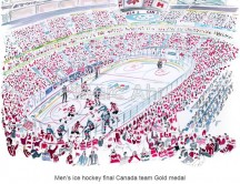C images winter olympics_vancouver - Men s ice hockey final Canada team Gold medal