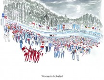 C images winter olympics_vancouver - Women s bobsled