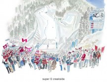 C images winter olympics_vancouver - super G creekside