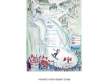 C images winter olympics_vancouver - women s snowboard cross